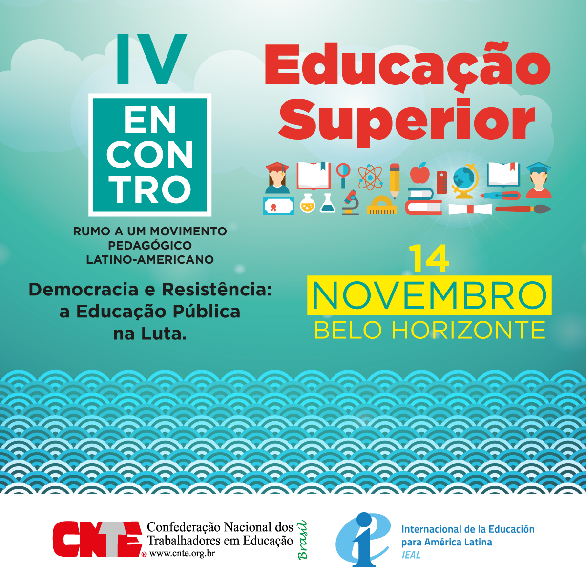 iv encontro educacao superior post facebook