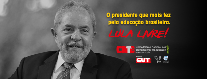 cnte post lula facebook capa