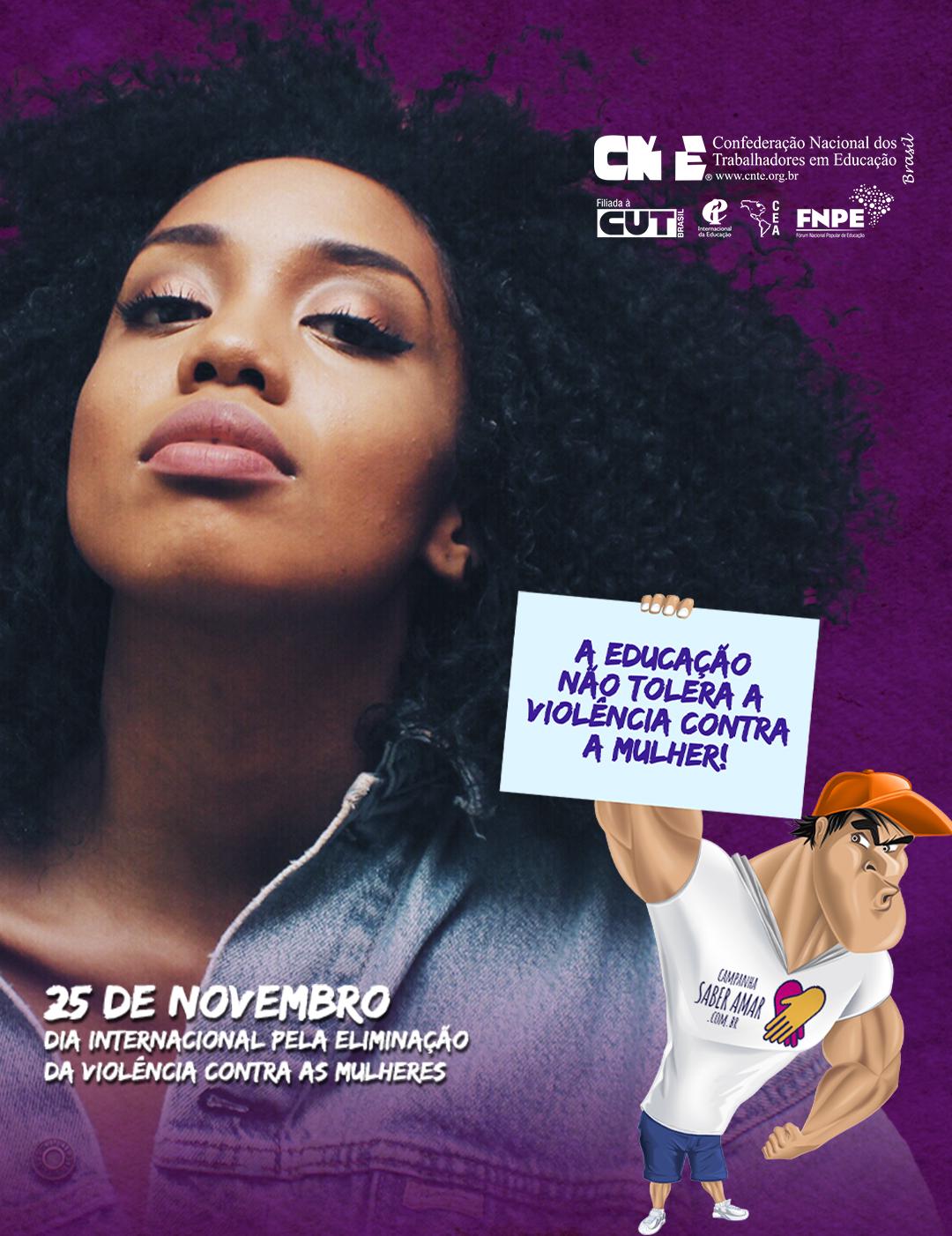 campanha fim violencia mulheres post feed vertical