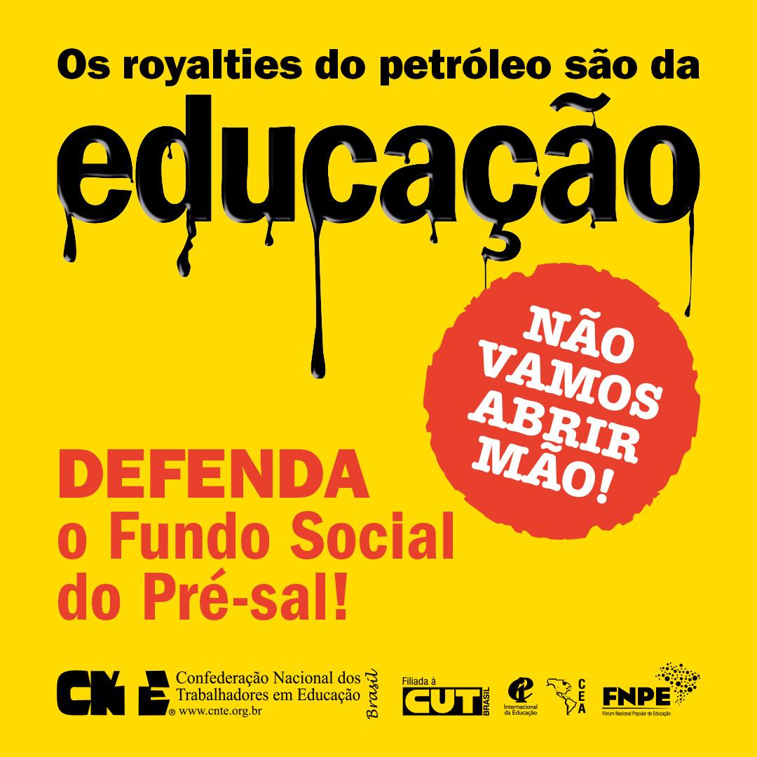 campanha petroleo para educacao 2020