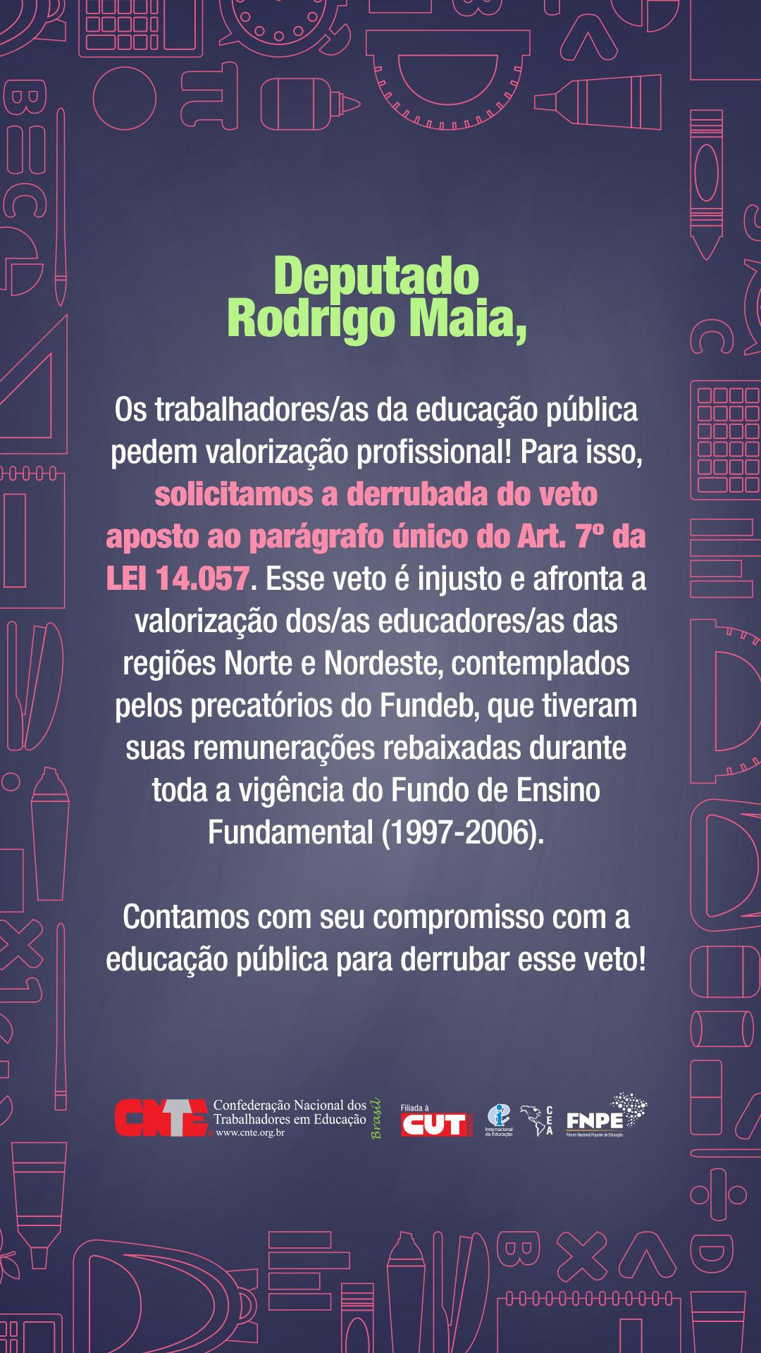 cnte derrubada vetos precatoriosDep Rodrigo Maia Emailmkt1